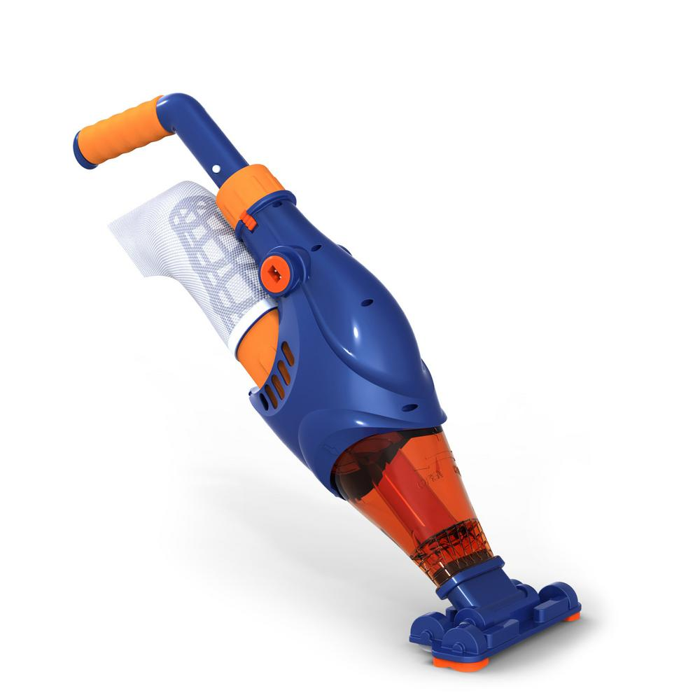 Typhoon Cordless Pool Vacuum - Powerful, Lightweight, Rechargeable Cleaner for