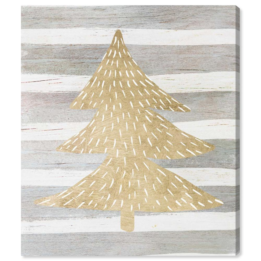 """The Oliver Gal Artist Co. """"Gold Tree"""" by Oliver Gal Canvas Wall Art"""