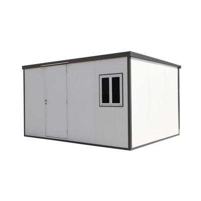 Flat Roof 13 ft. x 10 ft. Insulated Building Metal Shed