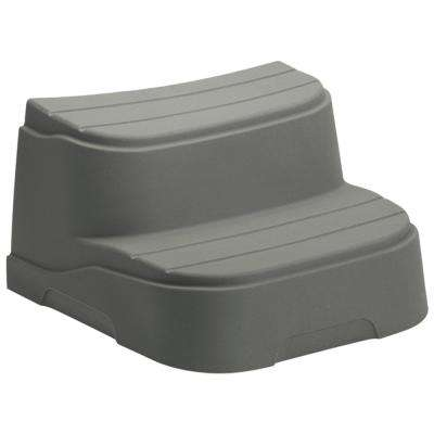 Taupe Step for Round and Oval Hot Tubs