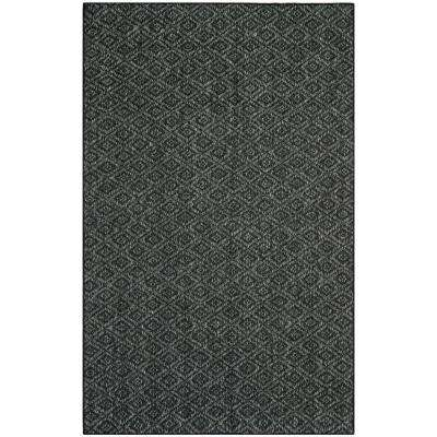 Palm Beach Charcoal 4 ft. x 6 ft. Area Rug
