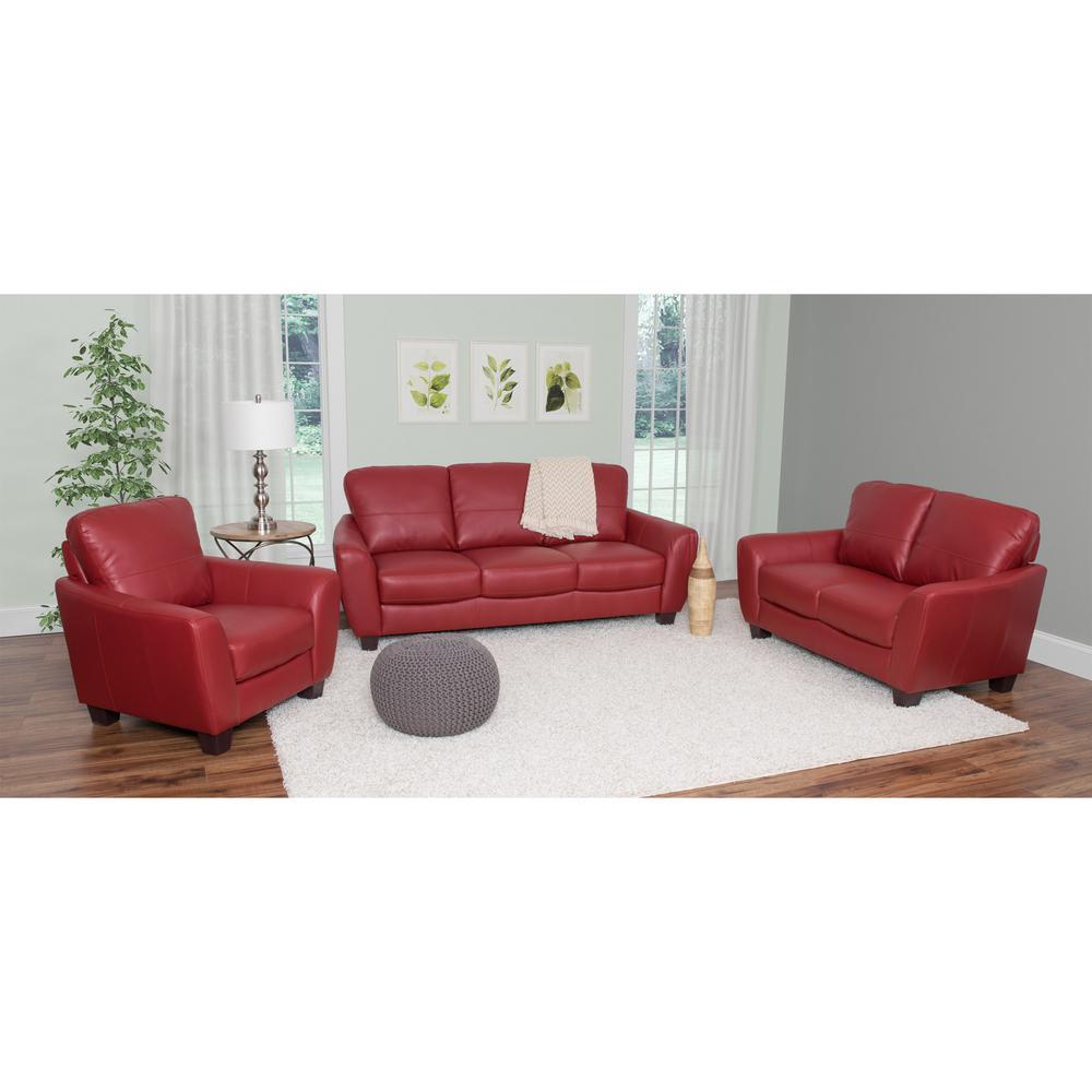 Red - Living Room Sets - Sofas & Loveseats - Living Room Furniture ...