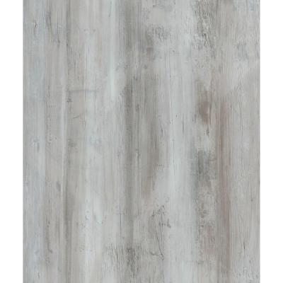Iced Barnwood 6 in. x 36 in. Peel and Stick Wall and Floor Luxury Vinyl Planks (21 sq. ft. per case)