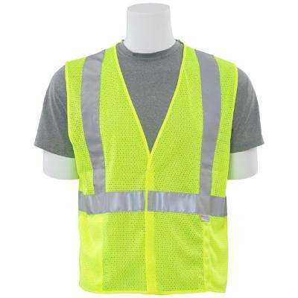 S15 XL HVL Poly Mesh Safety Vest