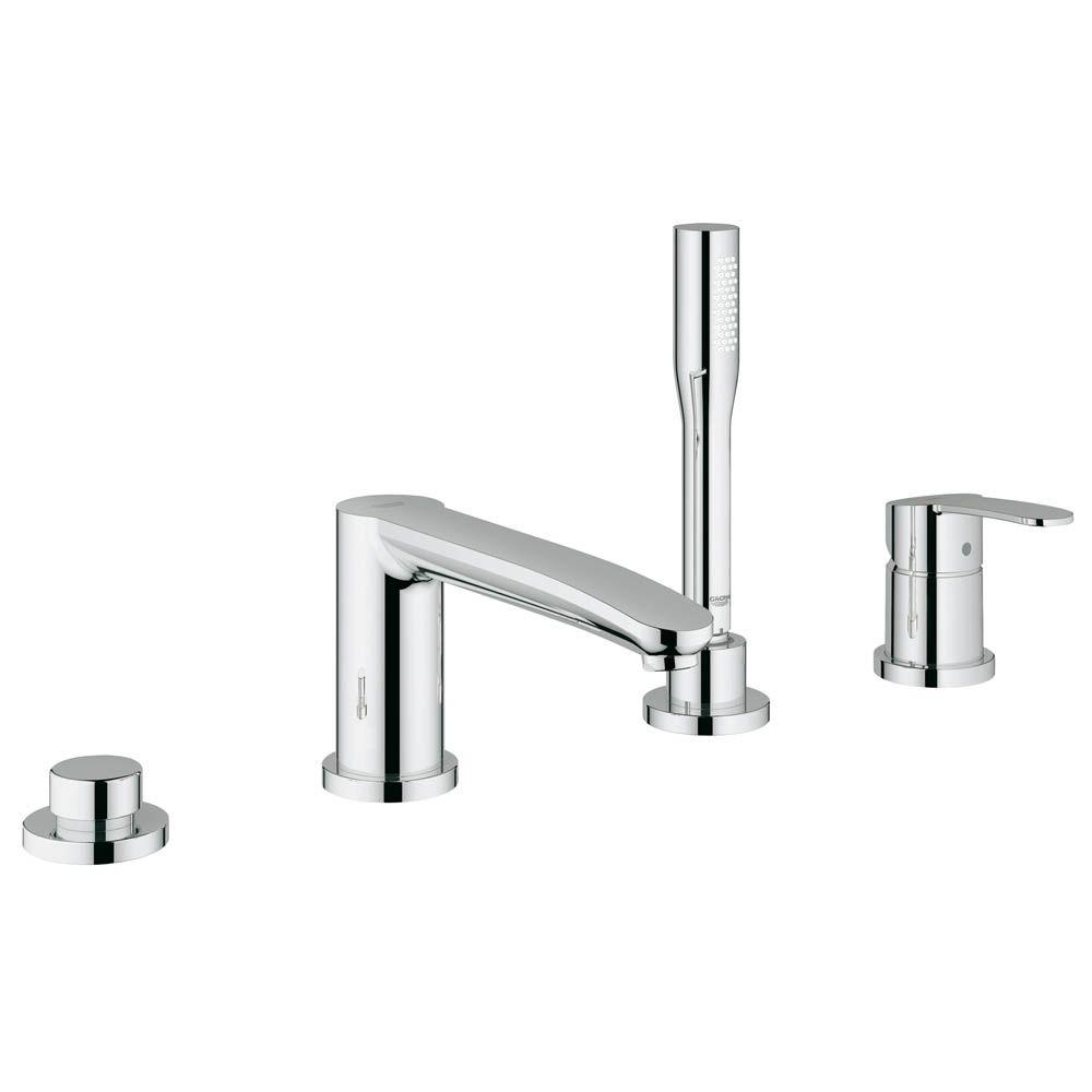 Eurostyle Cosmopolitan Single Handle Roman Tub Filler with Personal Hand Shower