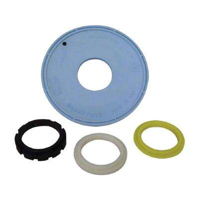 Replacement Diaphragm with Flow Rings for Flush Valves