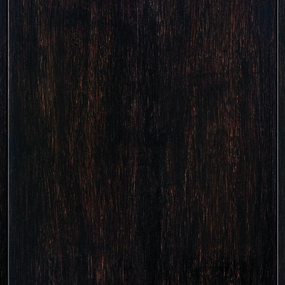 Captivating Home Legend Strand Woven Espresso 9/16 In. Thick X 4 3/4 In. Wide X 36 In.  Length Solid Tu0026G Bamboo Flooring (19 Sq. Ft. / Case) HL200   The Home Depot
