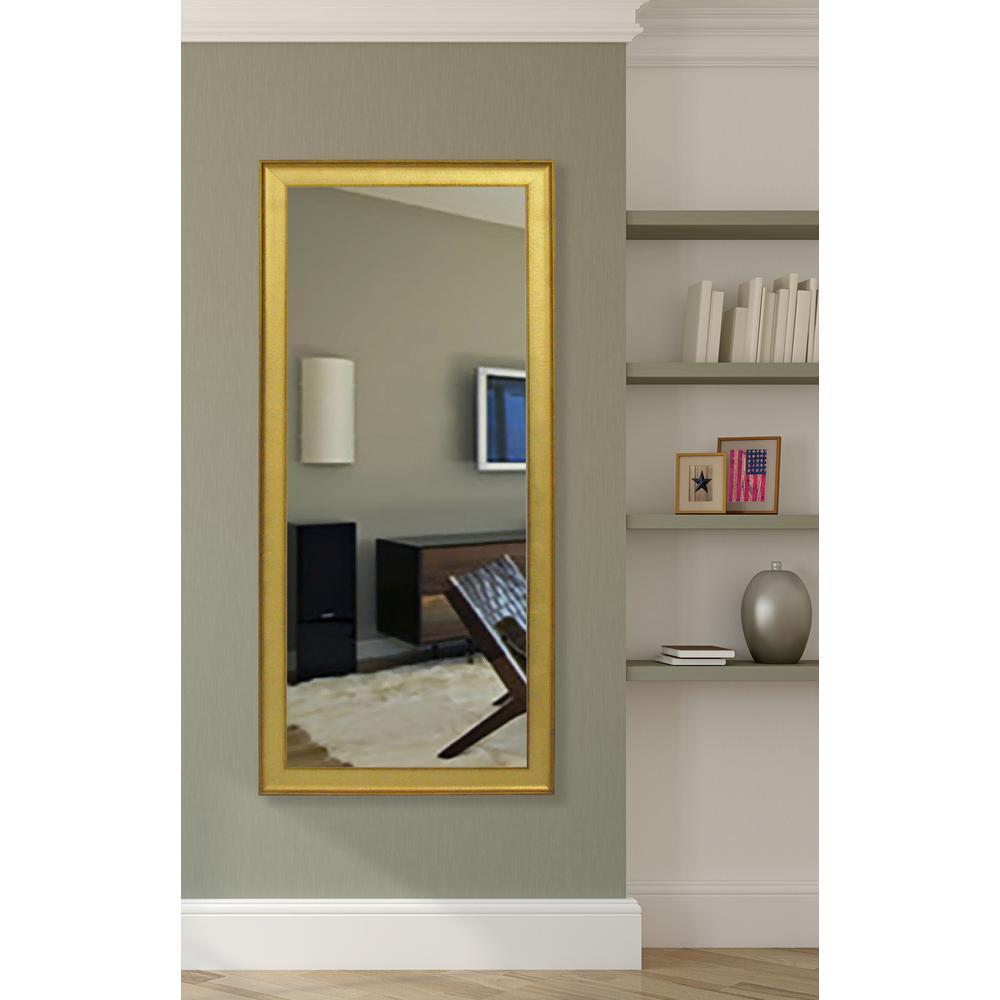 Vintage Gold Beveled Vanity Mirror