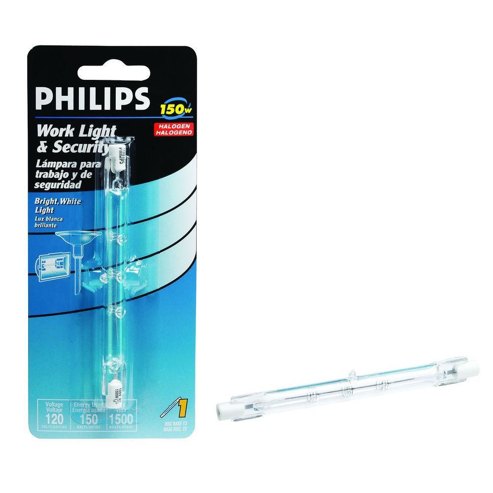150-Watt Halogen T3 120-Volt Work/Security Dimmable Light Bulb