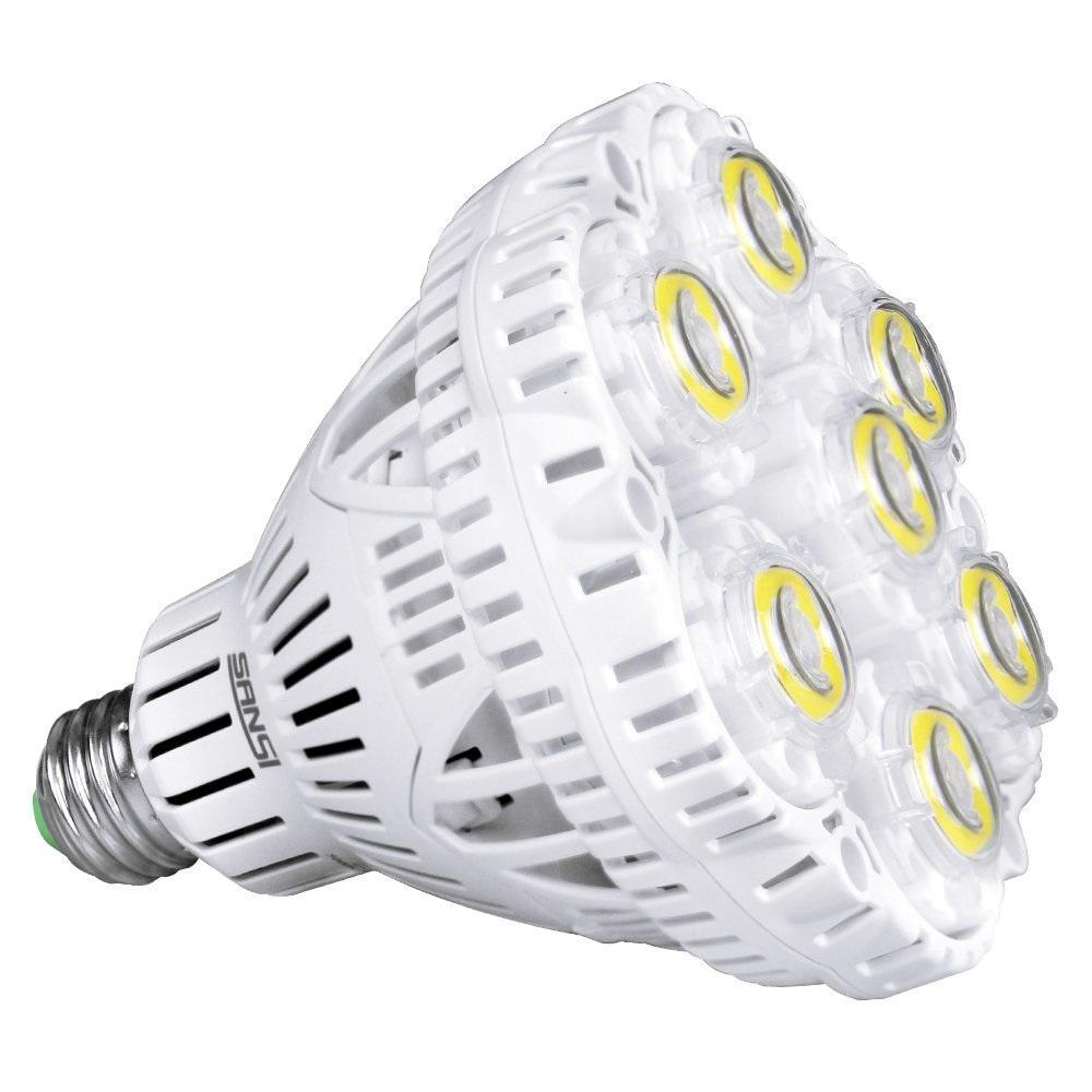 300-Watt Equivalent BR30 1-Light Non-Dimmable 5500 Lumens LED Light Bulb Daylight in 5000K