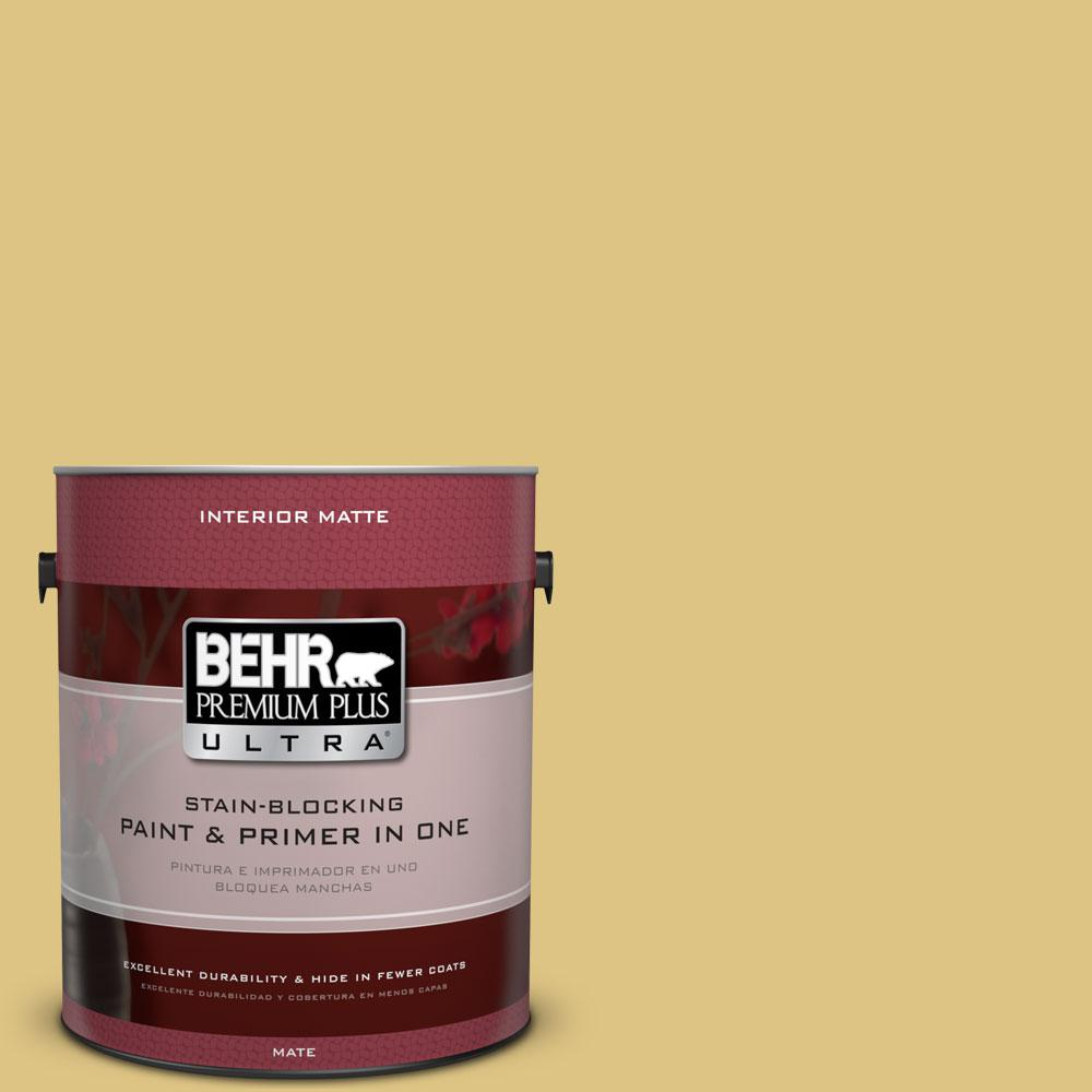 1 gal. #390D-5 Sea Kelp Flat/Matte Interior Paint