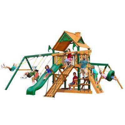 Frontier with Timber Shield Cedar Playset