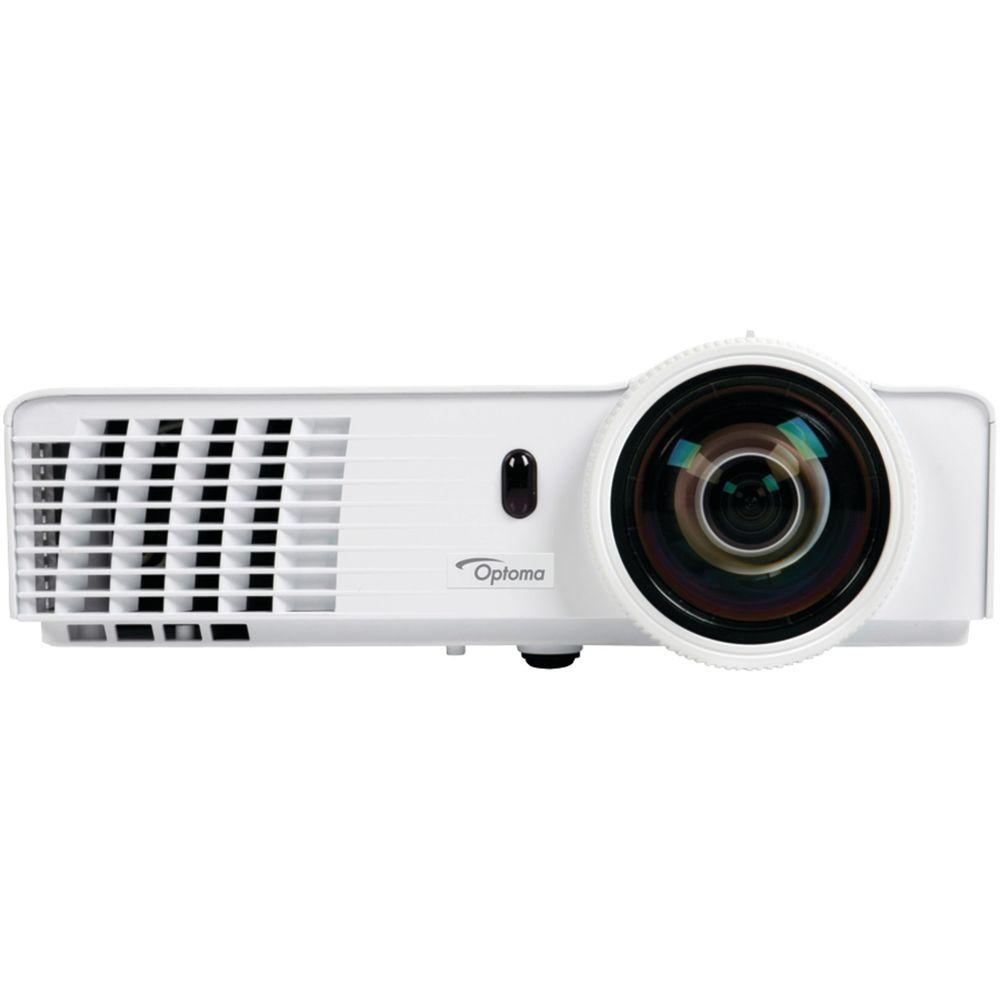 Optoma 1600 x 1200 DLP Full-3D Short-Throw Projector with...