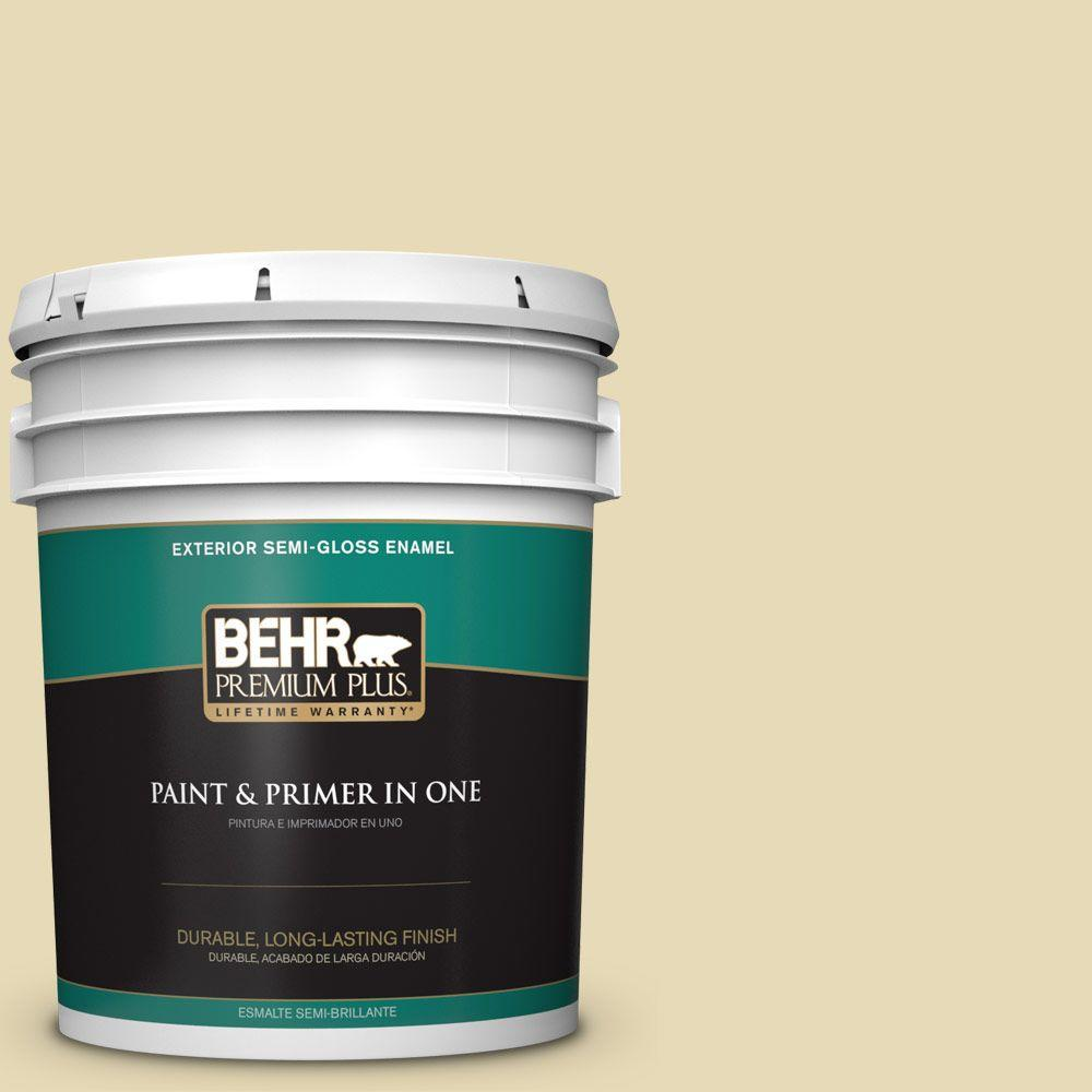 5-gal. #370E-3 Willow Herb Semi-Gloss Enamel Exterior Paint