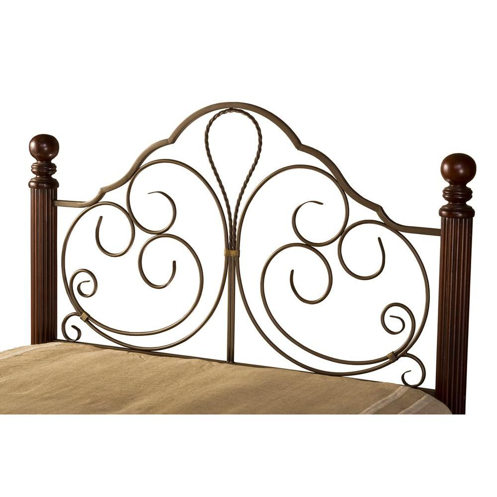 Hillsdale Furniture Ardisonne Old Silver Full and Queen-Size Headboard-DISCONTINUED