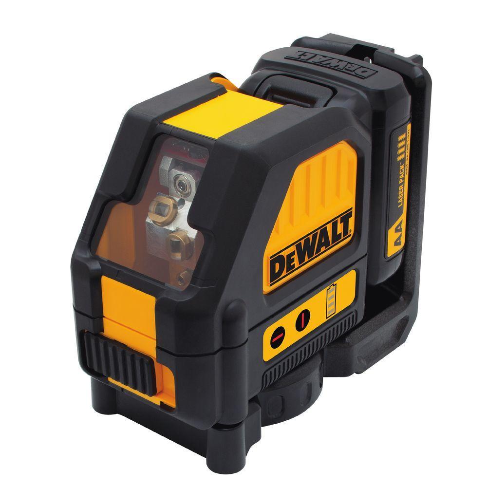 Dewalt 12-Volt MAX Lithium-Ion Red Cross Line Laser Level by DEWALT