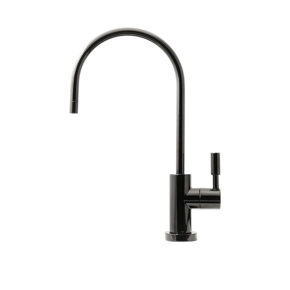 Single-Handle Beverage Faucet Lead Free Non-Air Gap in Gloss Black