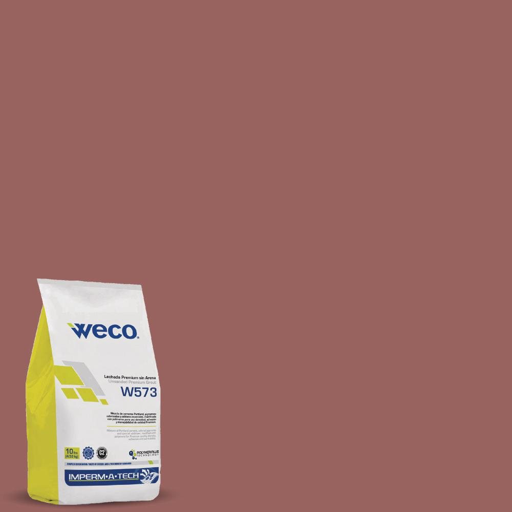WECO W-573 Unsanded Grout Terracota 10 lbs.-WE1071089 - The Home Depot