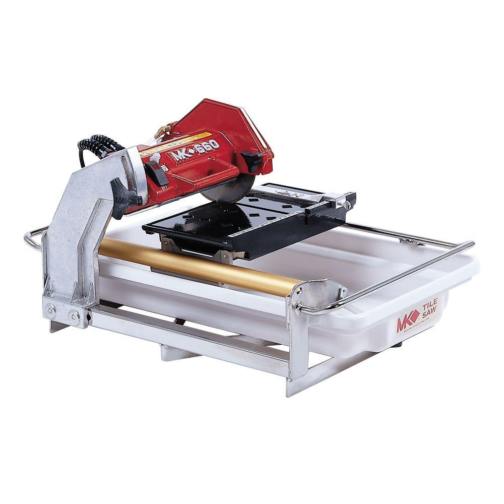 Mk Diamond Mk 660 Tile Saw 153330 The Home Depot