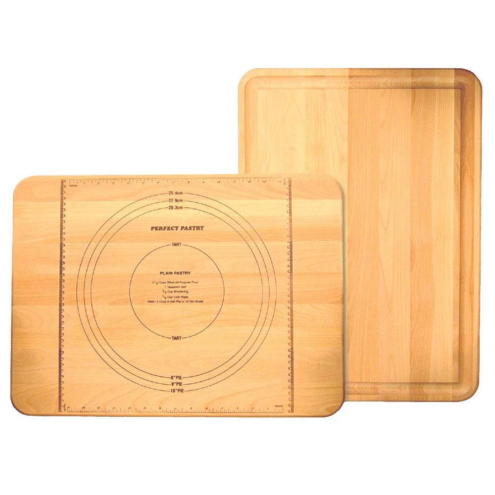 Catskill Craftsmen Perfect Pastry Wooden Cutting Board