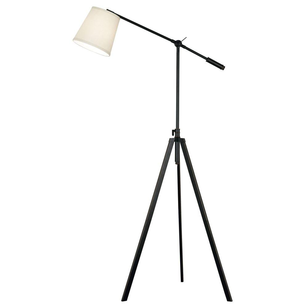 Kenroy Home Axel 65 in. Oil Rubbed Bronze Floor Lamp-DISCONTINUED