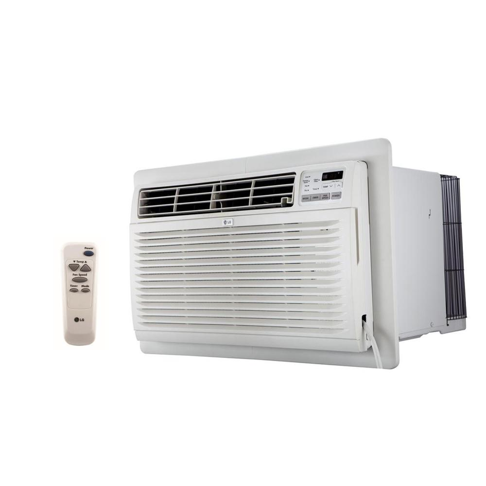 LG Electronics 9500 BTU 230 Volt Through The Wall Air Conditioner With Remote