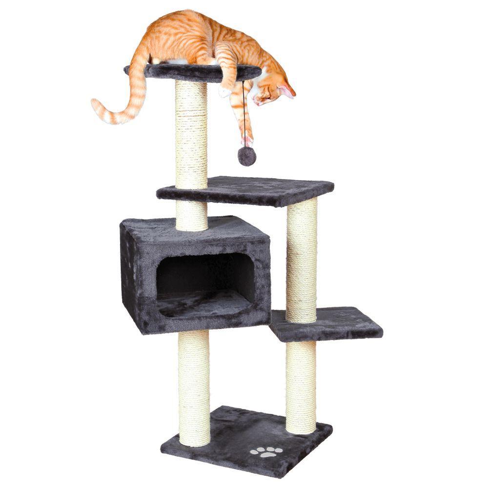 187ae4b37a4a TRIXIE Gray Palamos Cat Tree-43787 - The Home Depot