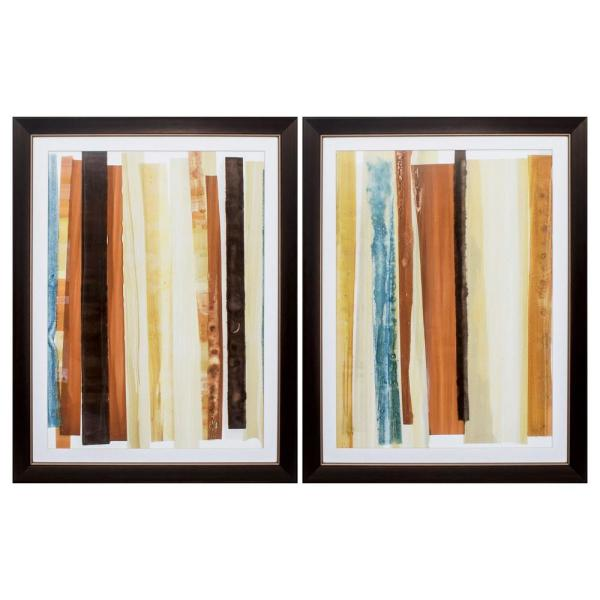 Homeroots Victoria 8 In X 10 In Distressed Wood Toned Gallery Frame Set Of 2 365371 The Home Depot