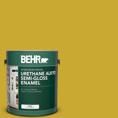 1 gal. #P320-7 Sweet and Sour Urethane Alkyd Semi-Gloss Enamel Interior/Exterior Paint