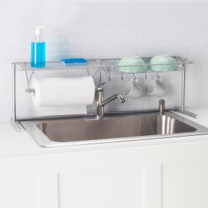 Home Basics Over-the-Sink Kitchen Station-SS41254 - The Home Depot