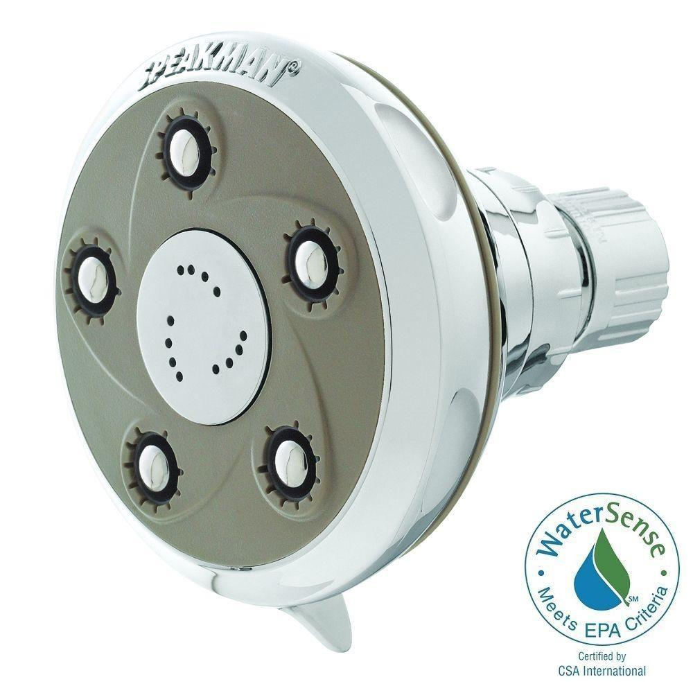 Speakman Anystream Icon 3-Spray 2-3/4 in. Fixed Showerhead in ...