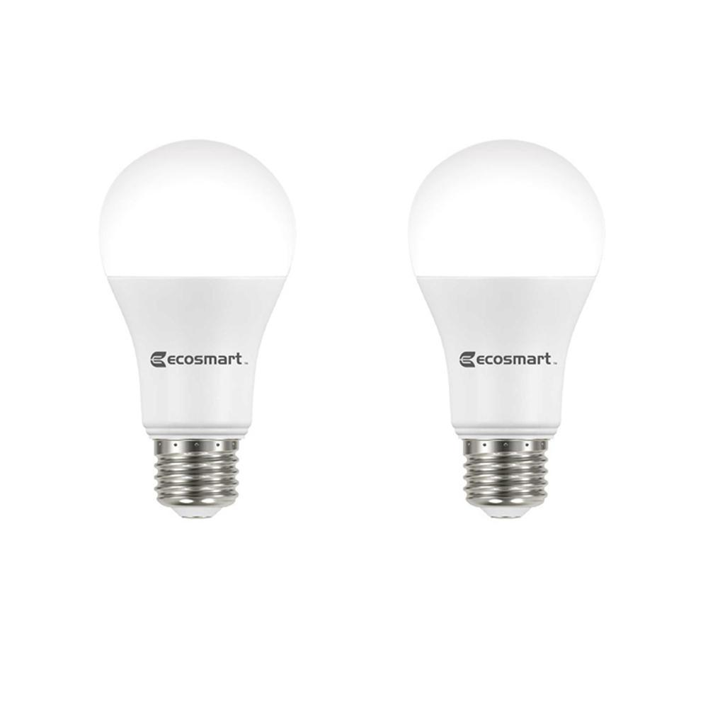 Ecosmart 75 Watt Equivalent A19 Dimmable Energy Star Led Light Bulb