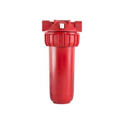 10 in. Whole House Hot Water Sediment Post Filter System