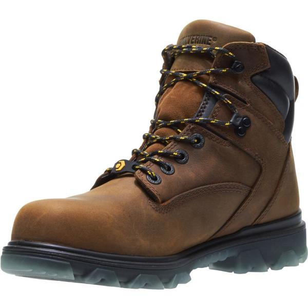 "Wolverine Men/'s Glacier Xtreme 8/"" Brown EPX CSA Composite Toe Work Boots W11111"