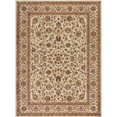 Sensation Ivory 8 ft. 9 in. x 12 ft. 3 in. Transitional Area Rug