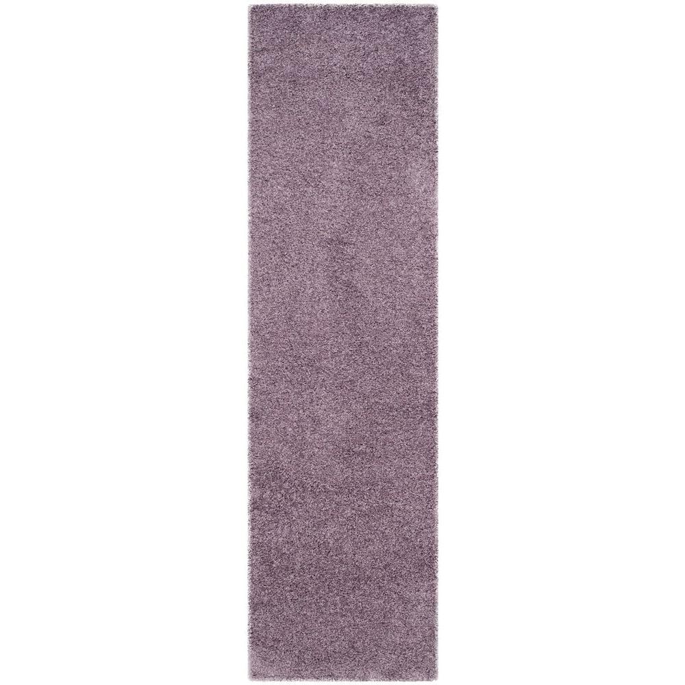 laguna shag purple 2 ft 3 in x 8 ft runner