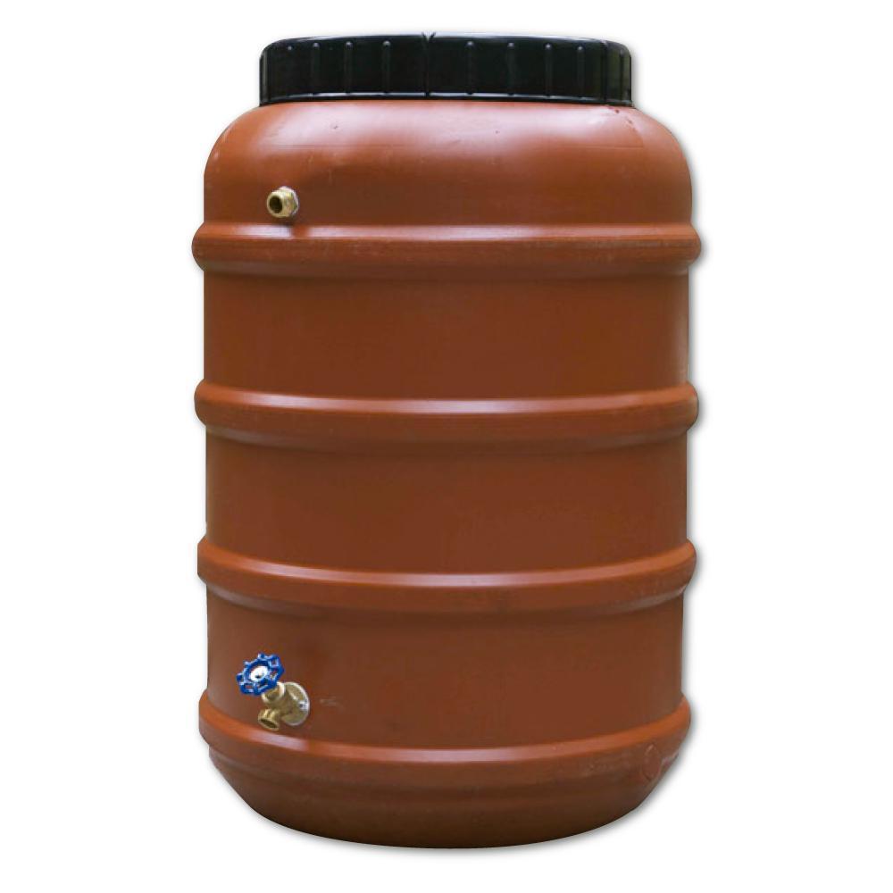 58 Gal. Rain Barrel Upcycled DIY Kit Used Food Grade Barrel