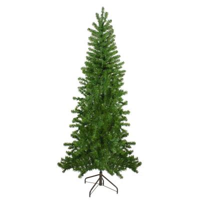 7.5 ft. Unlit Canadian Pine Artificial Christmas Wall Tree