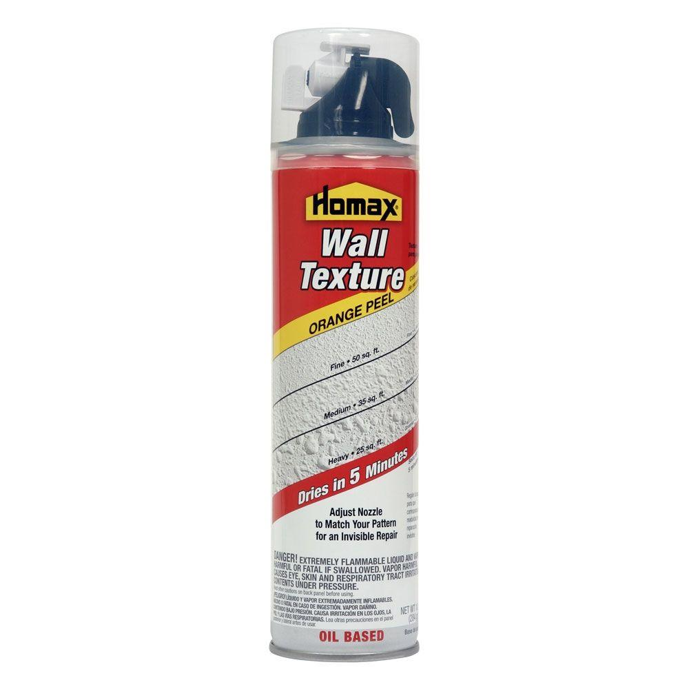 Homax 10 oz. Wall Orange Peel Quick Dry Oil-Based Spray Texture
