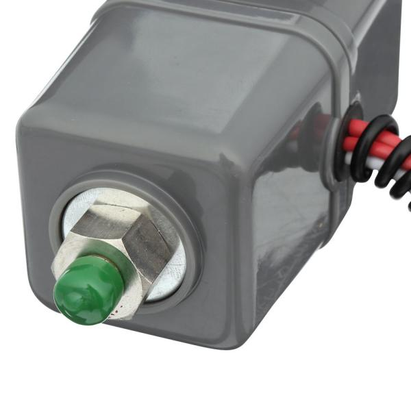 12V Only 165 PSI On, VIAIR 90118 Pressure Switch with Relay 1//8inNPT M Port,