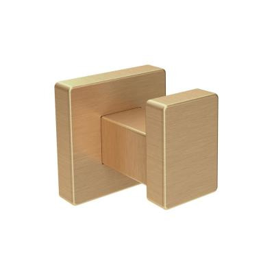 Duro Wall-Mounted Robe Hook in Brushed Bronze