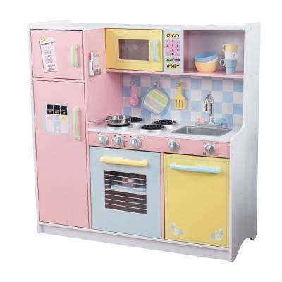 Large Pastel Kitchen Playset
