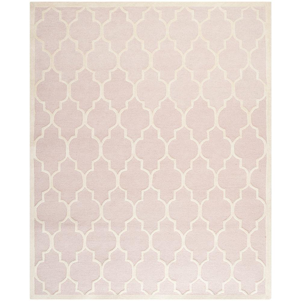 Safavieh Cambridge Light Pink/Ivory 7 ft. 6 in. x 9 ft. 6 in. Area Rug