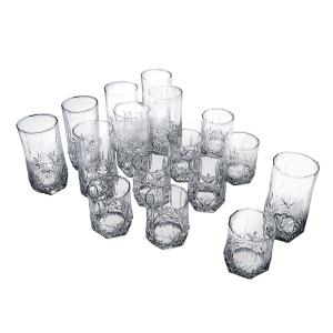 Brighton 16-Piece Tumbler Set