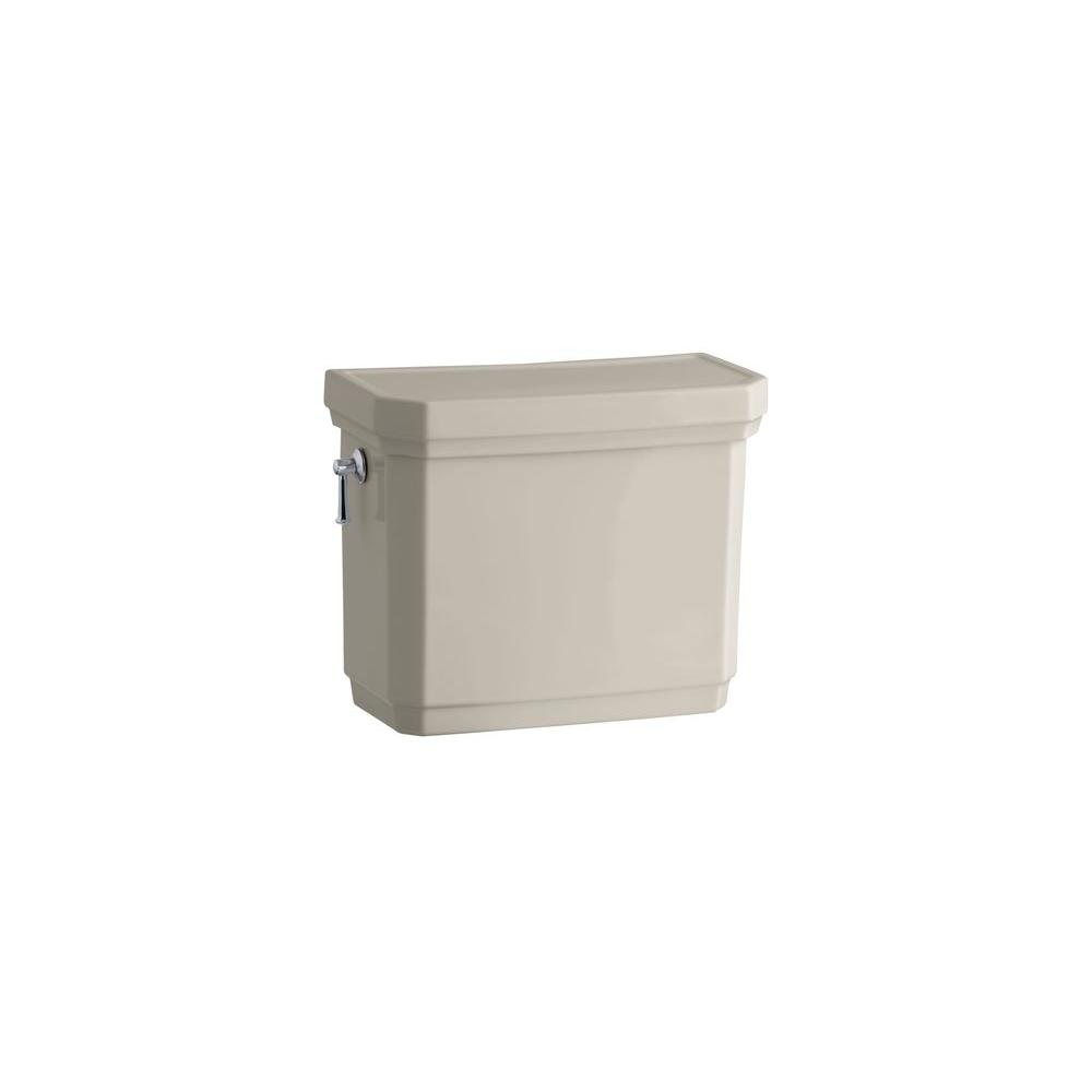 KOHLER Kathryn Toilet Tank Only in Sandbar-DISCONTINUED