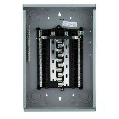 ES Series 125 Amp 20-Space 40-Circuit Main Lug WireGuide Load Center