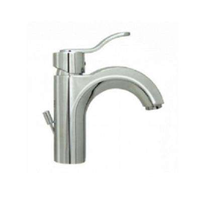 Single Hole 1-Handle Bathroom Faucet in Polished Chrome