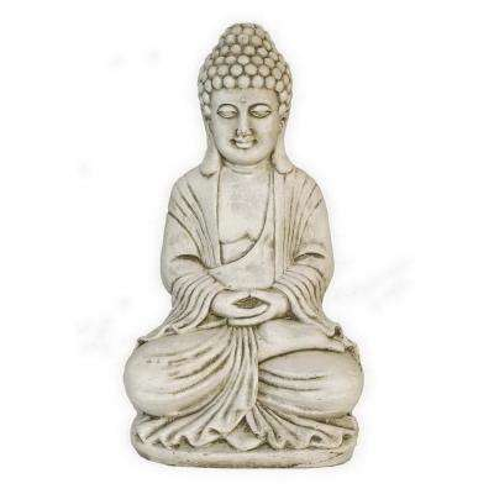 19.25 in. Buddha Figurine