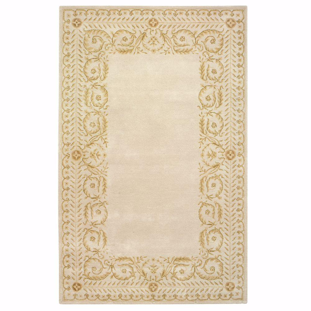 Home Decorators Collection Napoli Ivory/Taupe 7 ft. 6 in. x 9 ft. 6 in. Area Rug