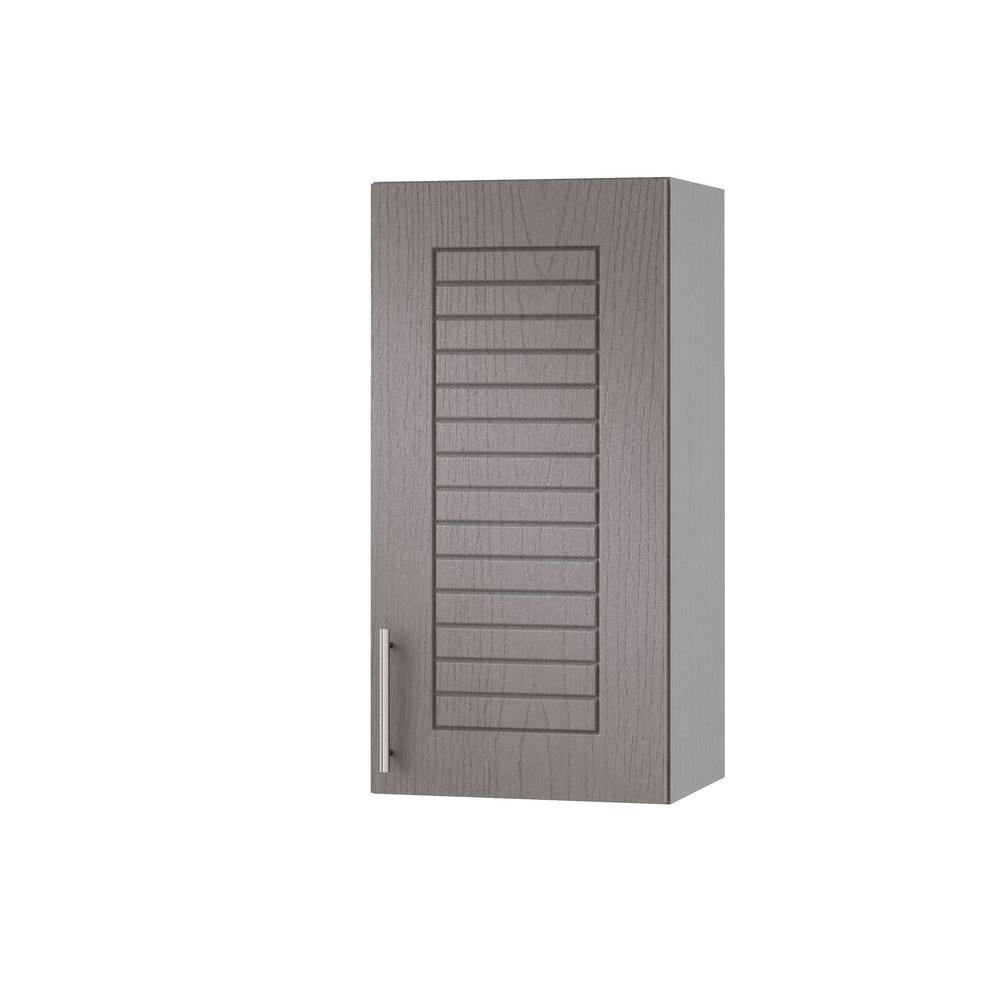 Assembled 15x30x12 in. Key West Open Back Outdoor Kitchen Wall Cabinet